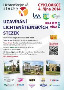 Uzavírání Lichtenštejnských stezek 2014